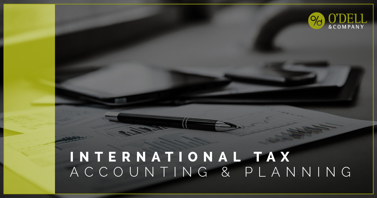 International Tax Accounting & Planning